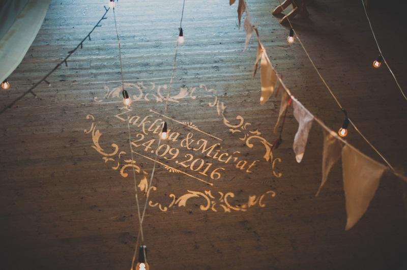 oswietlenie weselne, oswietlenie na parkiecie