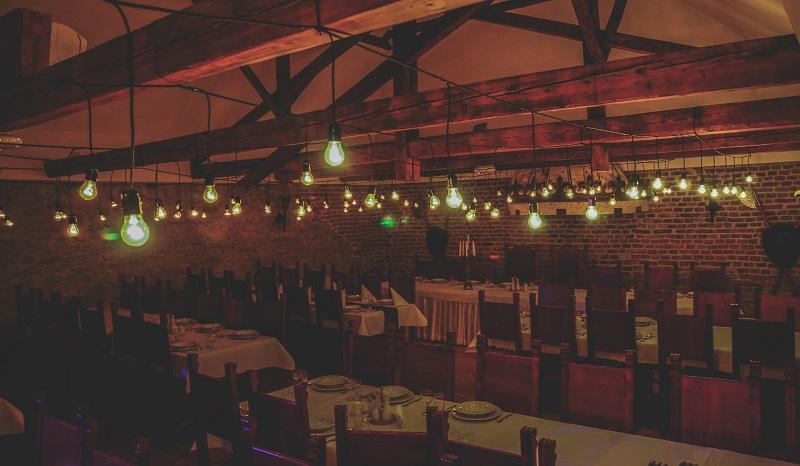 oswietlenie zarowkowe, oswietlenie na wesele