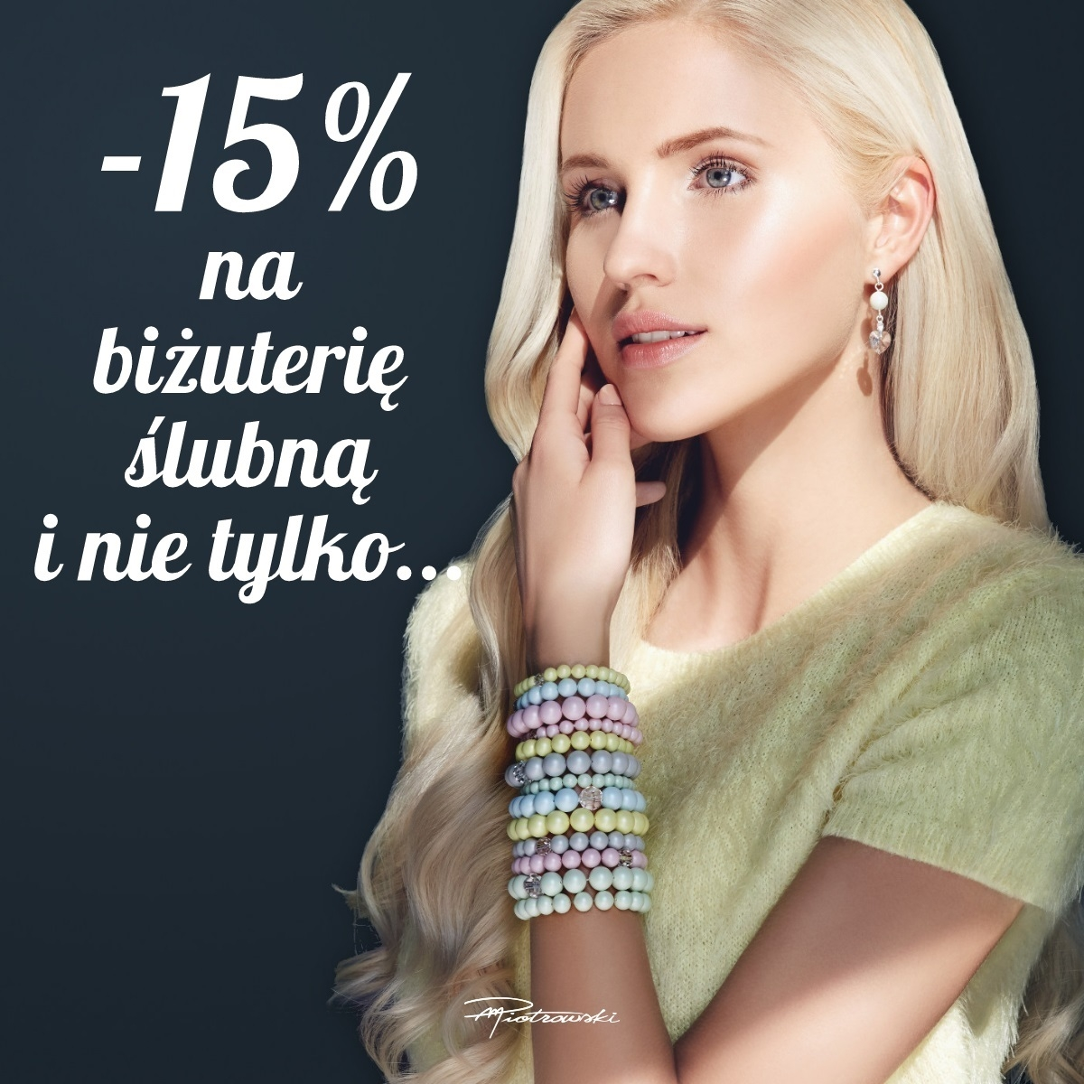 Rabaty ślubne: 15% zniżki na biżuterię Piotrowski!