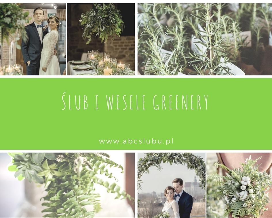 Jak wykorzystać kolor roku 2017 greenery na ślubie i weselu?
