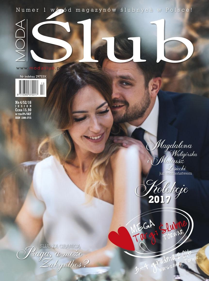 Nowe wydanie magazynu ModaŚlub już dostępne. W branży ślubnej nowy rok 2017 właśnie nastał