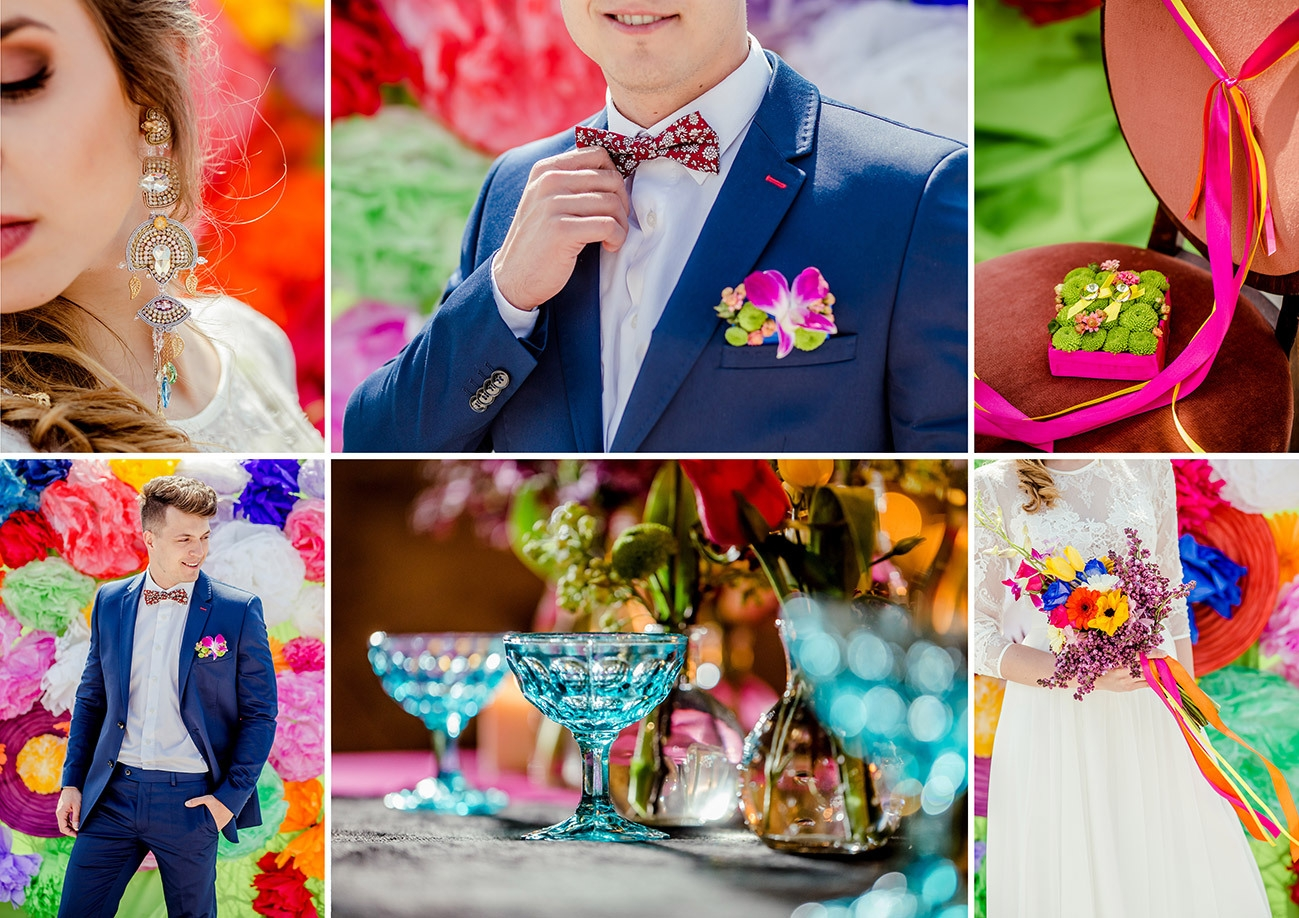 Soczyste barwy lata w pomyśle na ślub i wesele