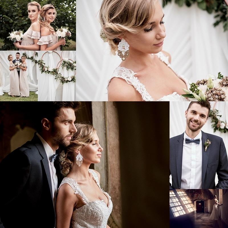 Pomysł na ślub i wesele w klasycznych odcieniach kremu i beżu