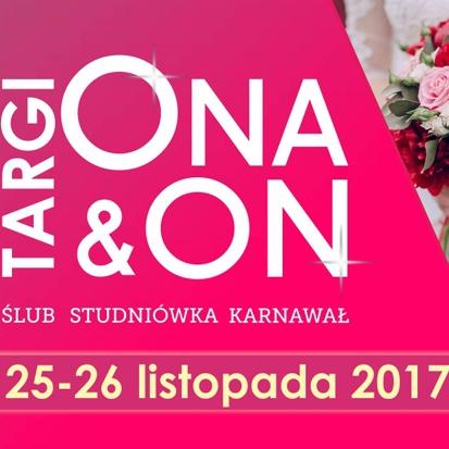 Targi ONA&ON Ślub,Studniówka,Karnawał już 25-26 listopada w Lublinie!