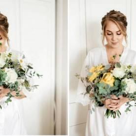 Ślub i wesele w kolorze żółtym - magiczny dzień Karoliny i Pawła