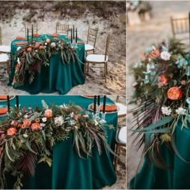 Dekoracje stołów na wesele - inspiracje ślubne 2021