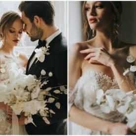 Lunaria mocny trend dekoracji ślubnych na sezon 2021