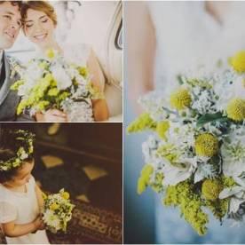 Słoneczny żółty na ślub i wesele 2020