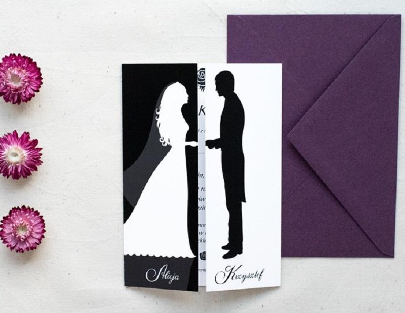 Klasyczne Zaproszenie ślubne Jak Je Wystosować Abcslubupl