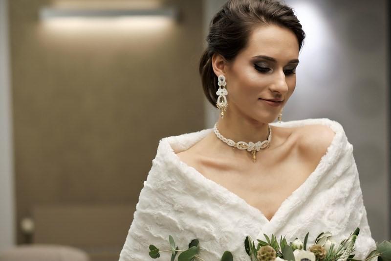 519d158d ślub wesele okrycie ślubne okrycie weselne futro futerko etola szal eko  futro inspiracje GOFashionDesigner