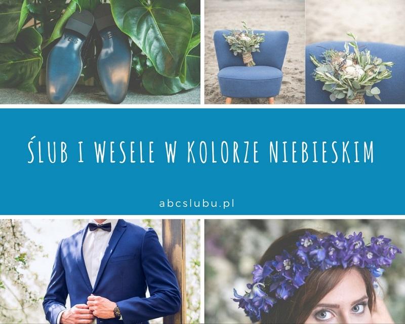 ślub I Wesele W Kolorze Niebieskim Abcslubupl