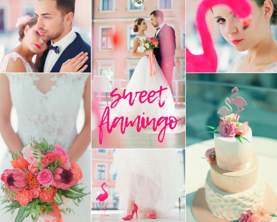 Pomysł Na ślub I Wesele W Kolorze Różu Sweet Flamingo Abcslubupl