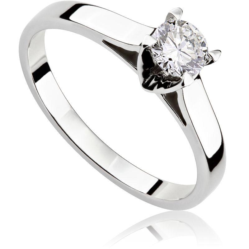 c75679f50fd2c6 pierścionek zaręczynowy ślub wesele zaręczyny białe złoto brylant diament