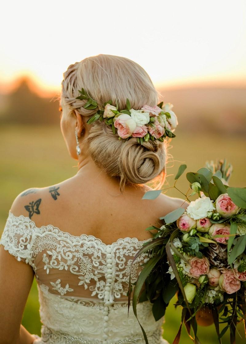 ślub I Wesele W Stylu Eleganckiego Boho Z Eukaliptusem I Ozdobnymi