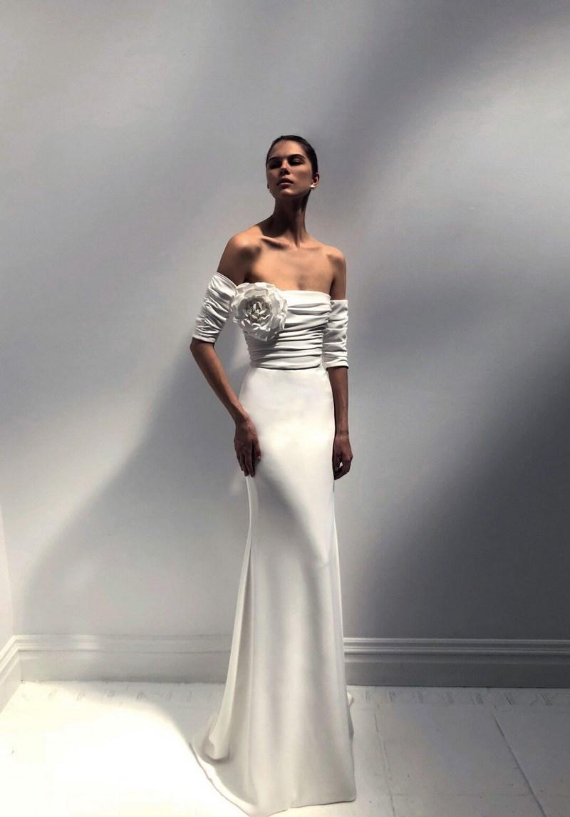 Minimalistyczne Suknie ślubne W Stylu Meghan Markle Inspiracje