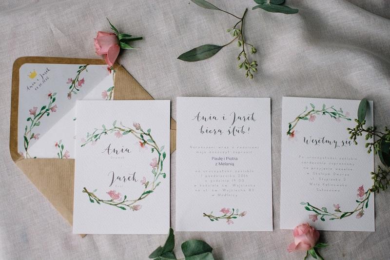 Zaproszenia ślubne Które Zachwycają Lista Rekomendowanych Firm