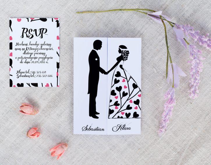 Zaproszenia ślubne Dla Pary Lubiącej Zabawę Abcslubupl