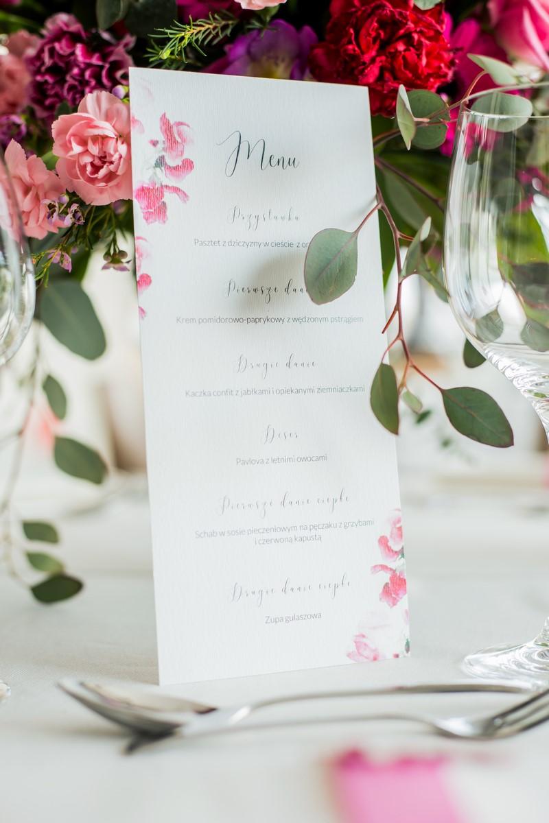 76bec85d Akwarelą Malowane ślub wesele poligrafia ślubna papeteria ślubna  zaproszenia ślubne zaproszenia na ślub na wesele inspiracje ...