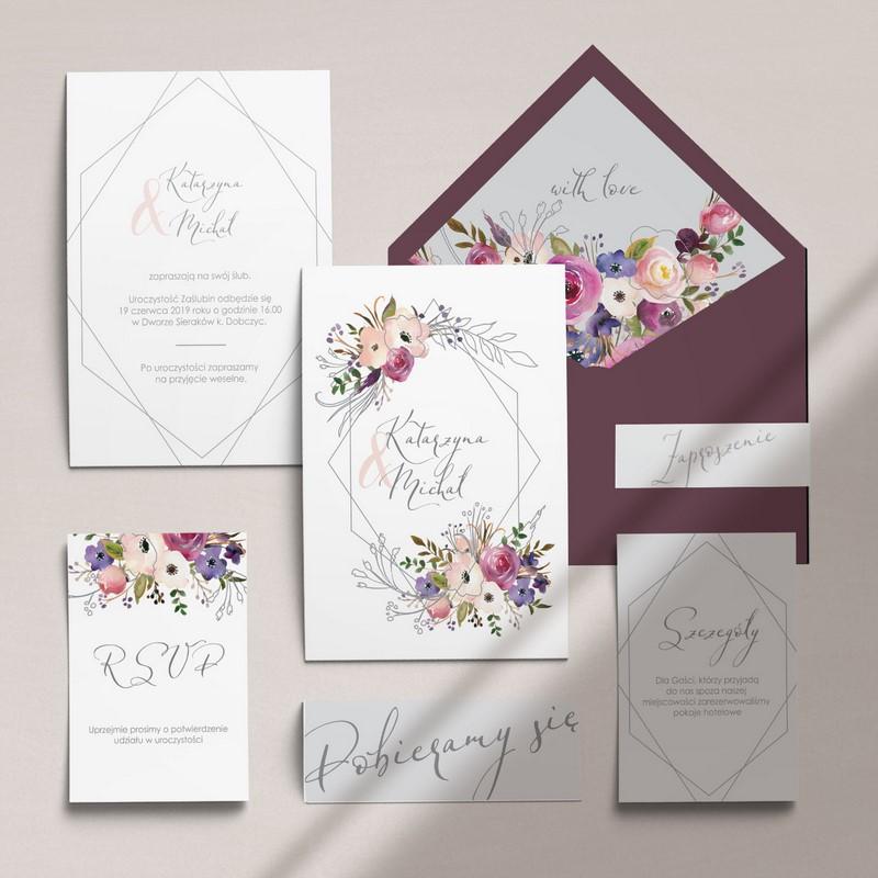c51a2404 ... Cartolina ślub wesele poligrafia ślubna papeteria ślubna zaproszenia  ślubne zaproszenia na ślub na wesele inspiracje