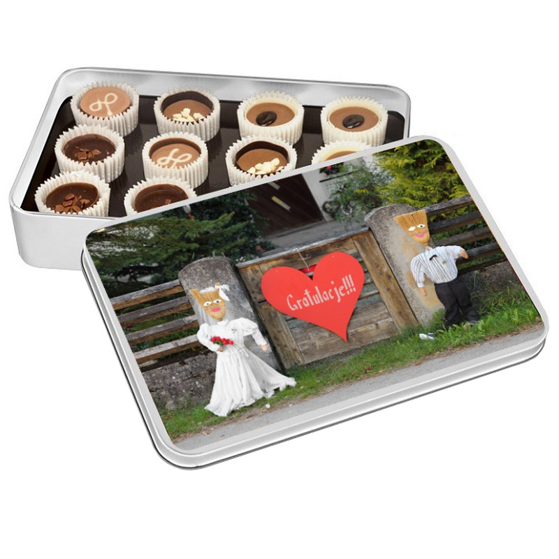 2dfc08d938 czekoladki na ślub czekoladki na wesele prezenty dla gości prezenty dla  młodej pary