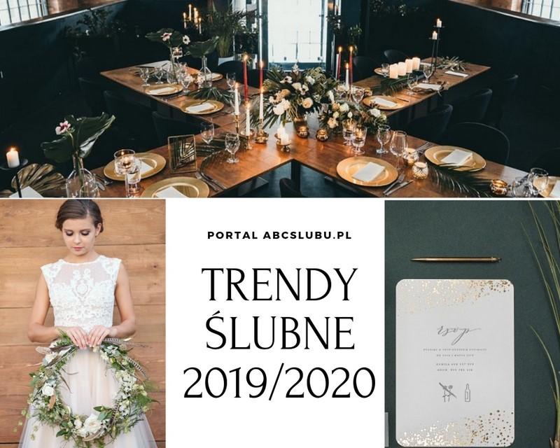 0b5216df7e trendy ślubne 2019 2020 ślubne inspiracje porady tematyczne motywy ślubne  weselne