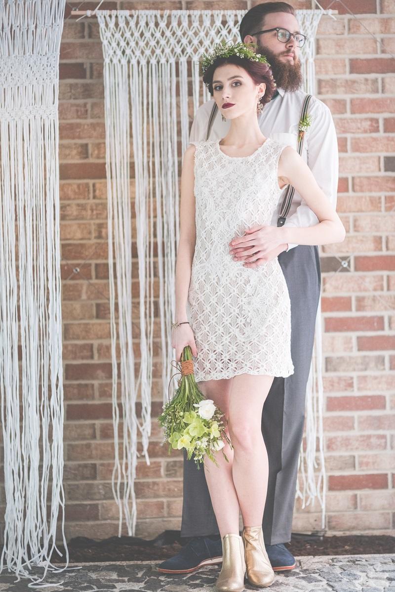 Poważne Pomoc ślubna: Czy wypada założyć krótką suknię ślubną na ceremonię YP51