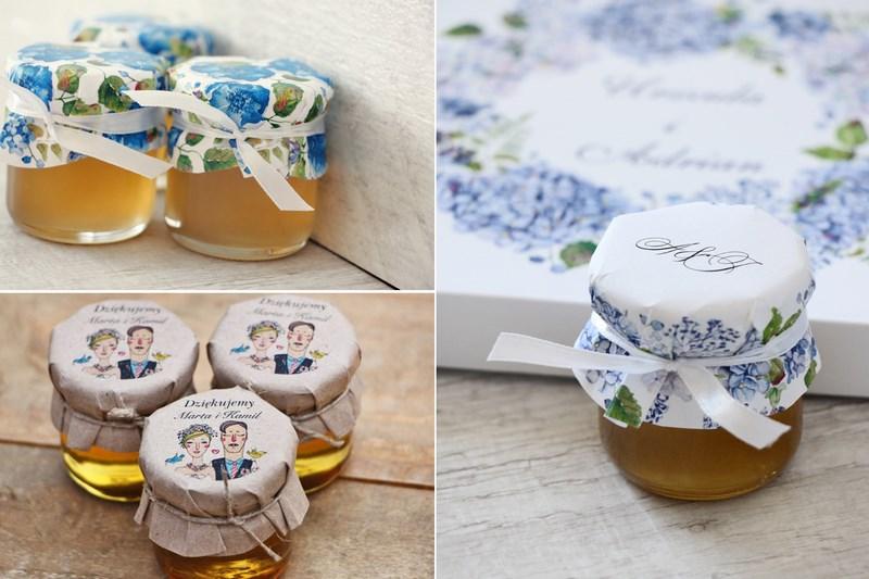53cf7743d5 prezenty dla gości weselnych miodki. Podziękowania dla Gości – pudełeczka z  cukierkami