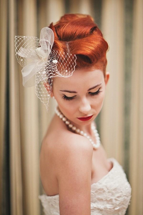Fryzura I Makijaż W Stylu Vintage Niebanalna ślubna Stylizacja