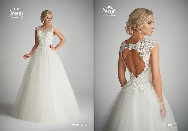 aa42538ad326 suknia ślubna dorota wróbel fasson paniówki ślub wesele suknia inspiracje  porady