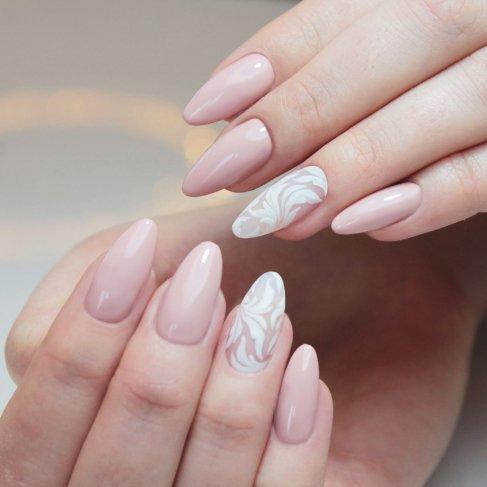 524b12cd12 slub wesele paznokcie manicure malowanie paznokci trendy 2019 styl ślubne  weselne french baby boomer wzorki manitul