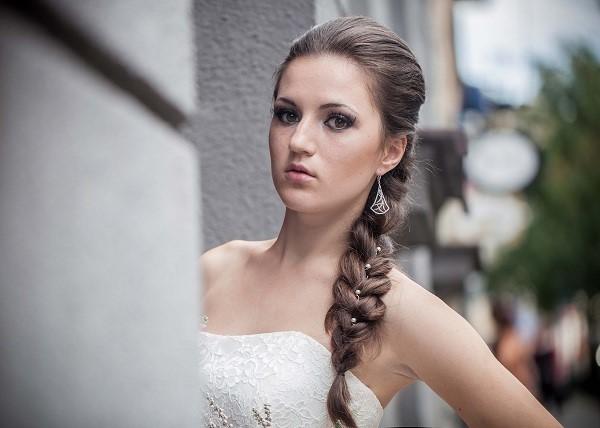 Fryzury ślubne I Makijaż ślubny Trendy Jesienno Zimowe 20142015