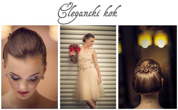 Fryzury ślubne Upięcia Klasyczny Kok Romantyczny Look