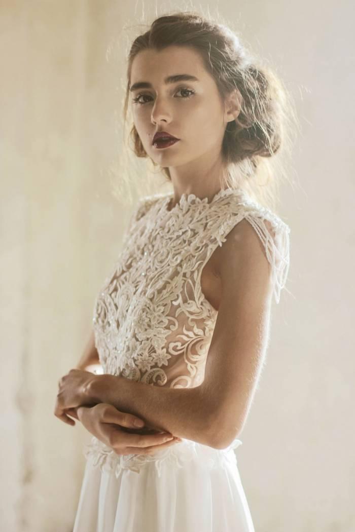 c585eddc57 Suknie ślubne stworzone z pasji - kolekcja Azrah 2017 Joanna Niemiec Atelier  - abcslubu.pl