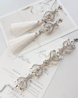 c3e1c3b4 Boho chic połączone z akcentami w stylu glamour – nowa kolekcja biżuterii  ślubnej od PiLLow Design