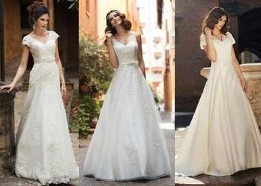 cfd506fe4e Dekolty w sukniach ślubnych. Jaki wybrać dla siebie