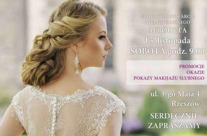 5cf5eae40c 15 listopad 2014 - Wielkie otwarcie Atelier Ślubnego Afrodyta w