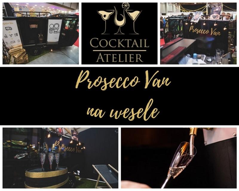 Prosecco Van - atrakcja idealna na Twoje wesele!