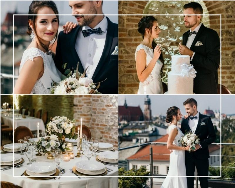 Pomysł na minimalistyczny ślub i wesele w odcieniach bieli