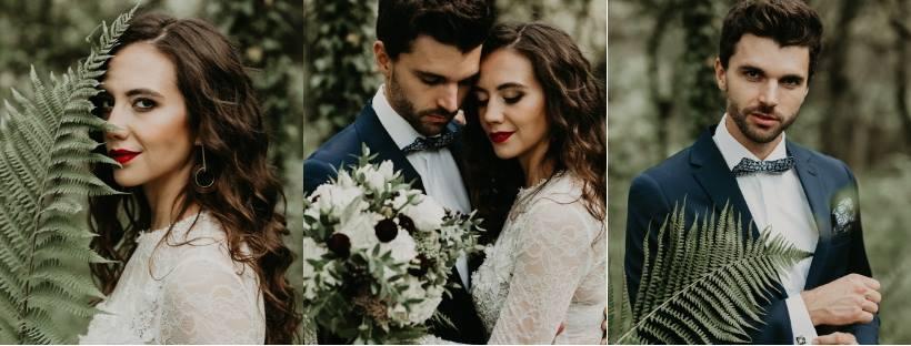 Pomysł na klimatyczne wesele z paprociami